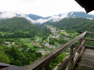 山寺五大堂からの眺め